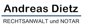 Rechtsanwalt und Notar Andreas Dietz